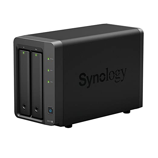 6 opinioni per Synology DiskStation DS215+ Server NAS ,Dual Core 1.4 GHz, 1 GB DDR3, Nero