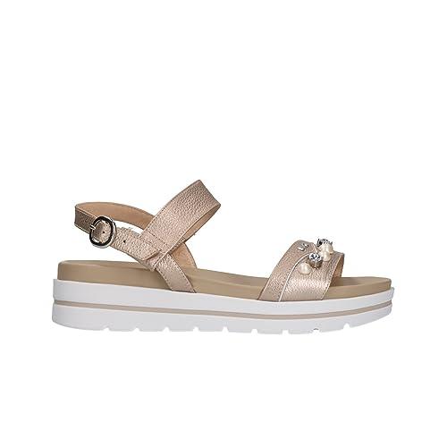 NERO GIARDINI Sandali scarpe donna nut 5854 mod. P805854D