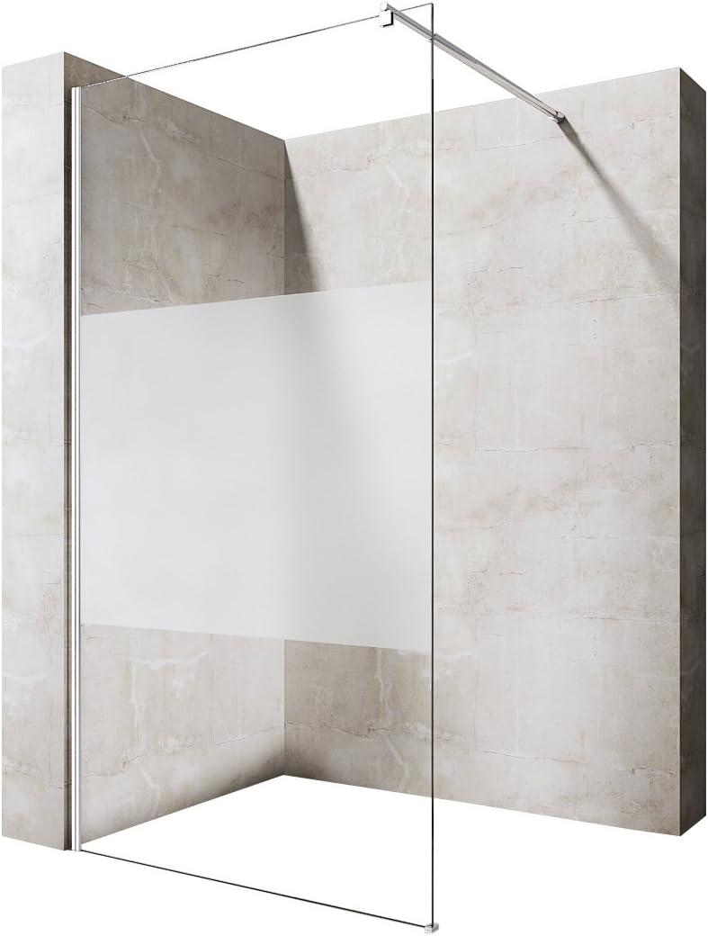 Ducha Durovin espaciosa de la más alta calidad 8 mm, caja de ...