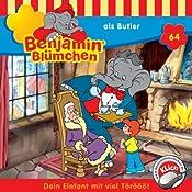 Benjamin als Butler (Benjamin Blümchen 64) | Elfie Donnelly, Ulli Herzog