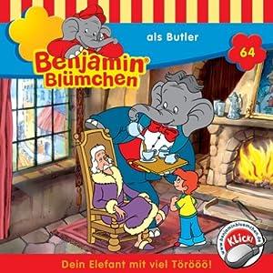 Benjamin als Butler (Benjamin Blümchen 64) Hörspiel