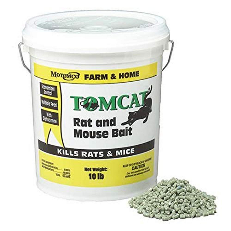 MOTOMCO Jaguar Mouse Mice Rodent and Rat Bait Chunx 9-Pound