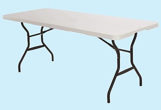 Homelux 820340 Table Pliante En Résine 180 X 75 X 74 Cm