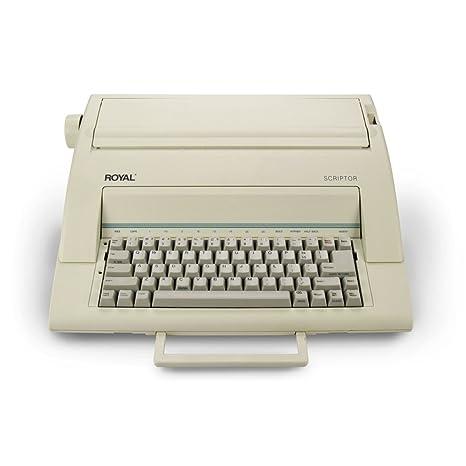 "Royal scriptor 13 ""portátil electrónico máquina de escribir ..."