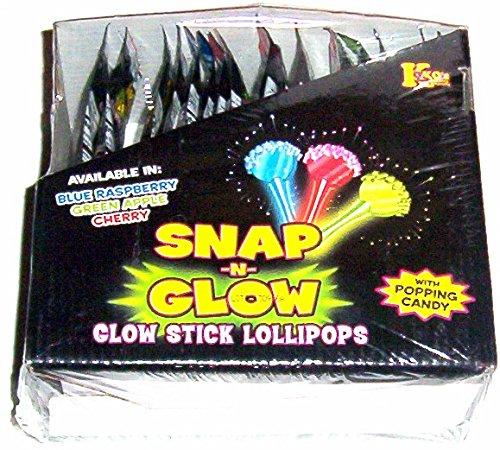 Snap -N- Glow Lollipops