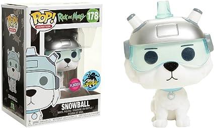Funko Pop Rick and Morty Snowball Flocked #178 Vinyl Figure
