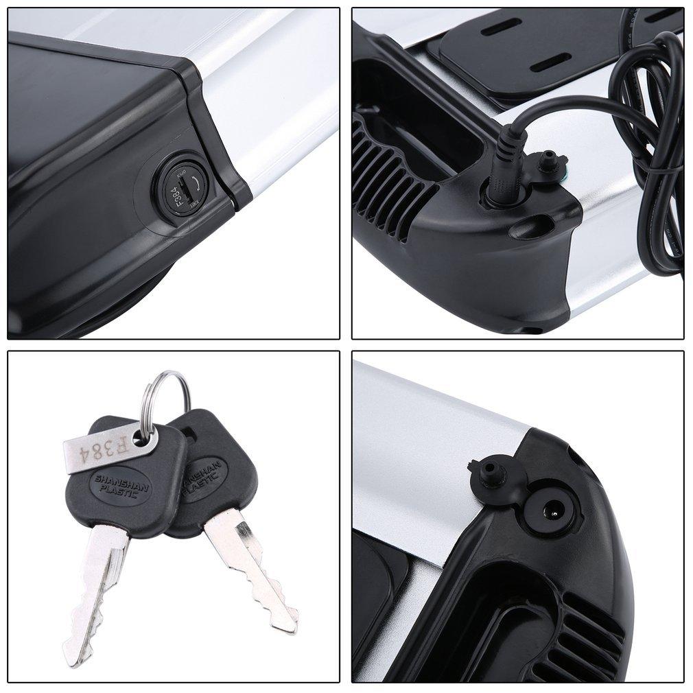 Binghotfire Batterie au Lithium 36 V 20/% Plus performante 2 Pole 36 V 10,4 AH 374 Wh pour v/élo /électrique v/élo /électrique par Exemple MIFA Rex Pedelec PROPHETE ALDI