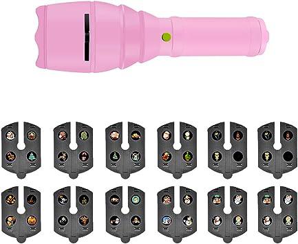 Amazon.com: Coxeer - Proyector LED de Navidad, 12 patrones ...