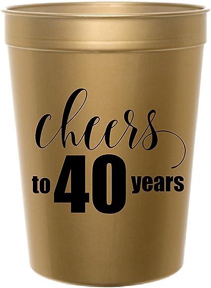 Amazon.com: Cheers a 40 años, oro Cheers a 40 años de ...
