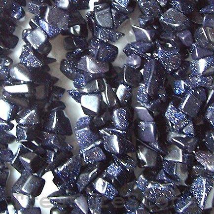 - Blue Goldstone Chips 36