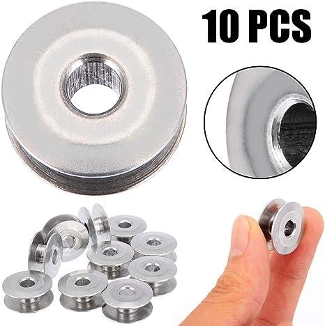 Correa de reloj de piel, 10 piezas de bobinas de aluminio ...