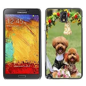 - toy poodle dog? - - Monedero pared Design Premium cuero del tir¨®n magn¨¦tico delgado del caso de la cubierta pata de ca FOR Samsung Galaxy Note 3 N9000 N9008V N9009 Funny House