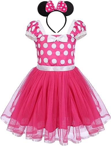 Baby Kids Girls Summer Princess Tutu Dress Cartoon Fancy Dresses Cosplay Clothes