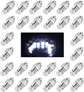 Submersible 36 LED Light Paper Lantern Balloon Floral Wedding Party Decoration