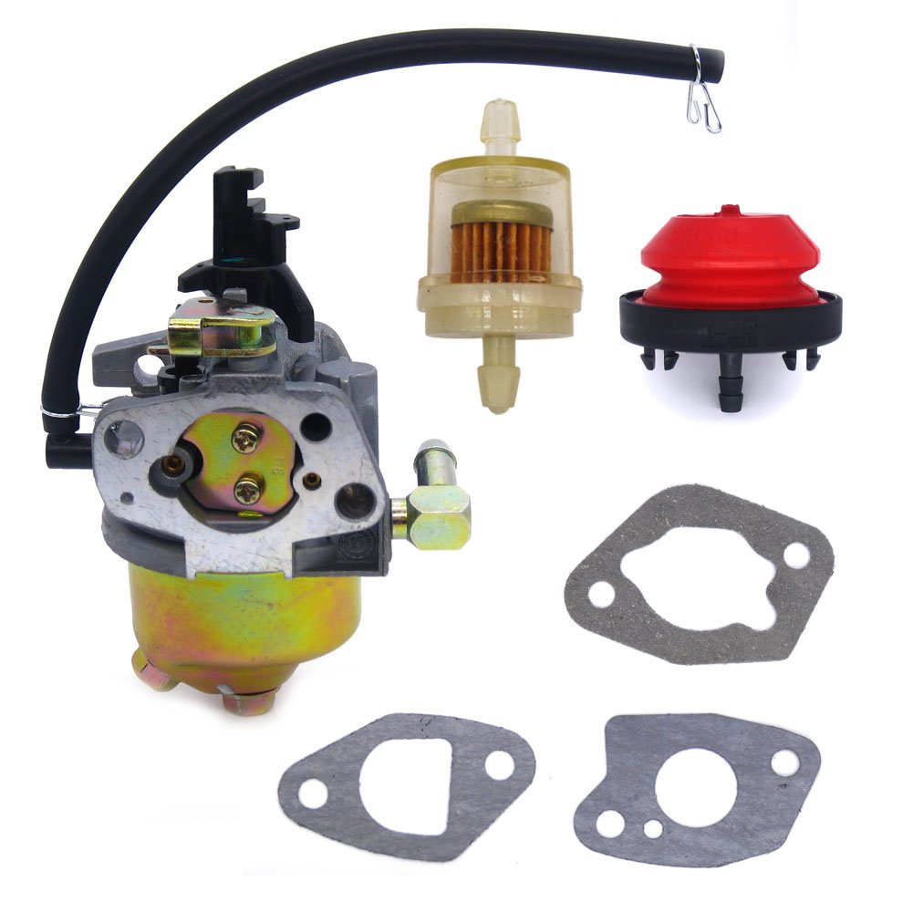 Amazon.com: FitBest Carburetor with Primer Bulb Fuel Filter for MTD Troy  Bilt Cub Cadet Snow Blower 951-10974 / 951-10974A / 951-12705: Garden &  Outdoor