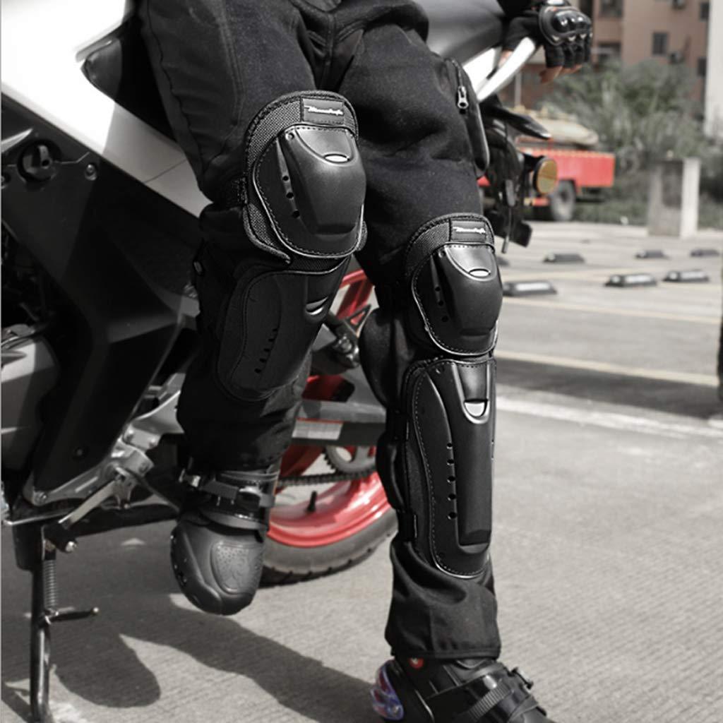 perfk 2 Ginocchiere Moto Csc Cuscino Ginocchio Duro Nero Unisex