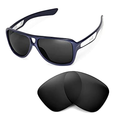 cefb106d2b Walleva Replacement Lenses for Oakley Dispatch II Sunglasses - Multiple  Options (Black - Polarized)