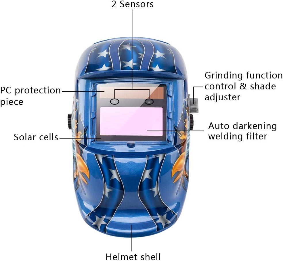 Adjustable Welding Welder Mask Headband Solar Auto Dark Helmet Accessory Part RR