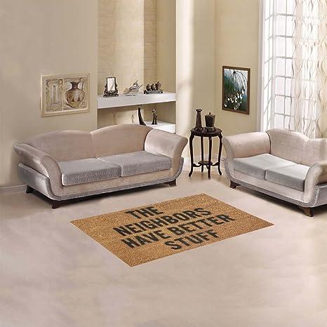 D Story Sweet Home Art Floor Decor The Neighbors Have Better Stuff Area Rug  Carpet