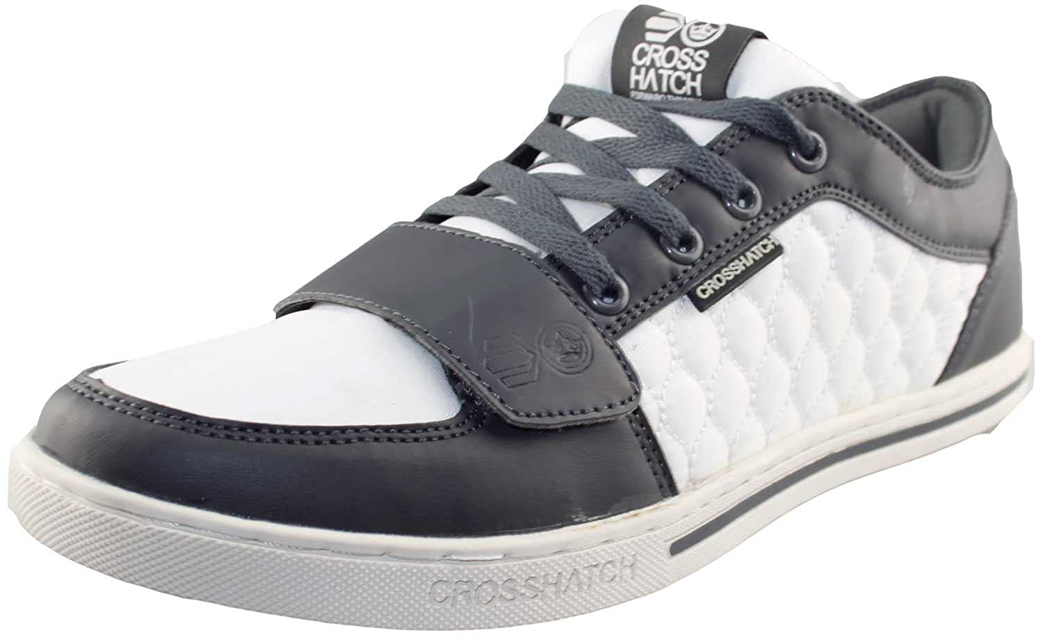 Crosshatch Mens Lace Up Trainers EASTMOOR