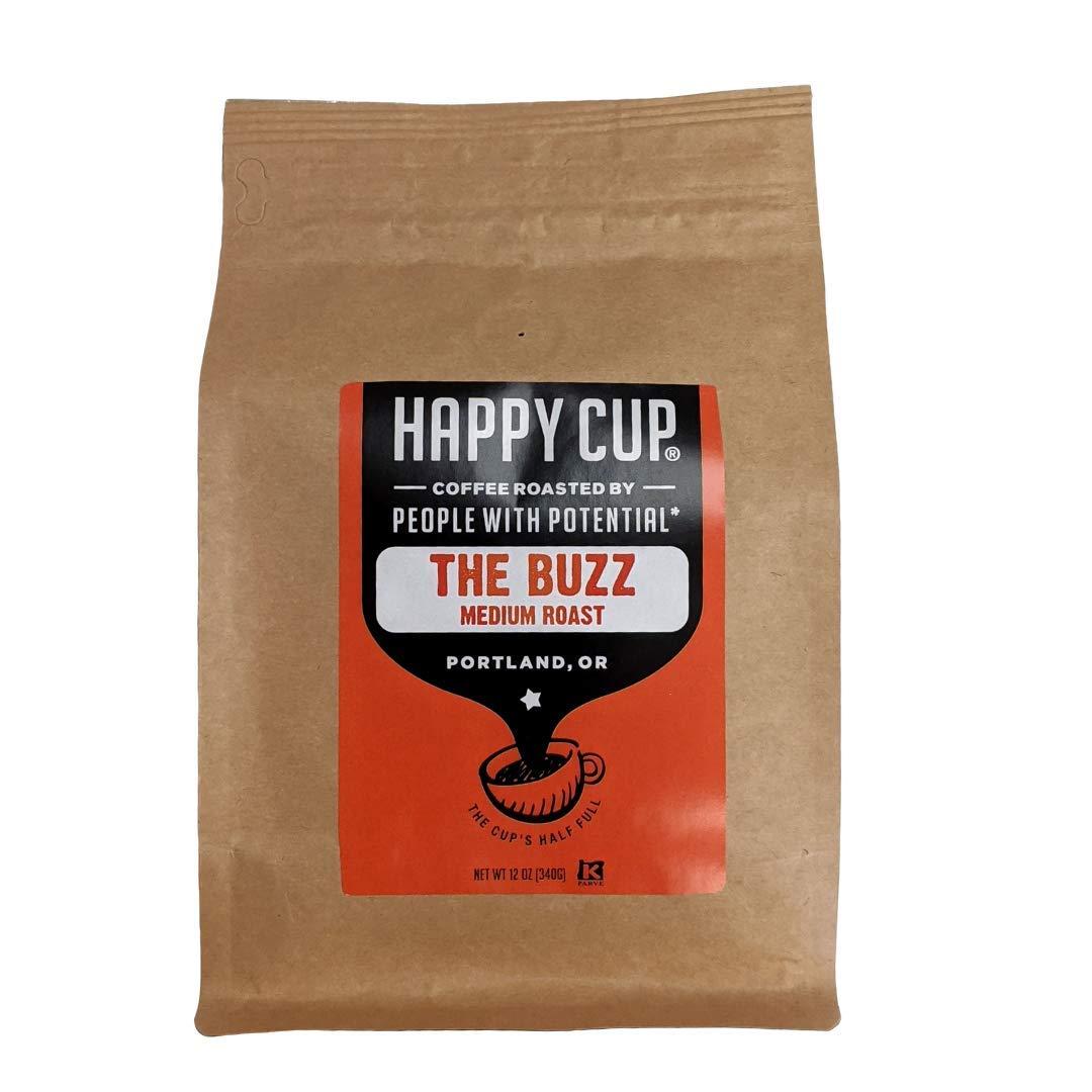 Happy Cup Coffee, Coffee Medium Roast, 12 Ounce