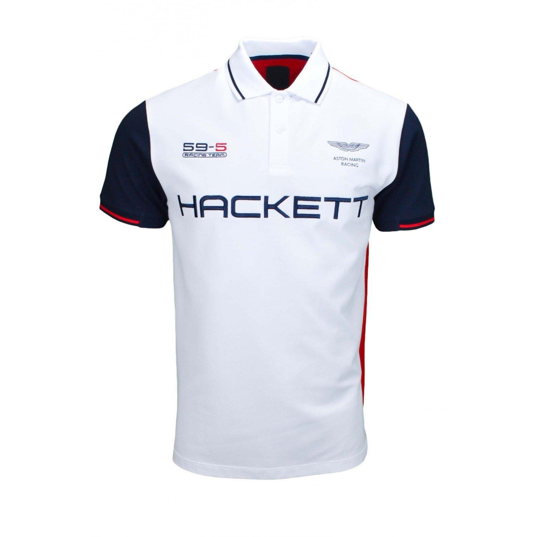 Hackett London Amr Hkt Multi-Polo Hombre Blanco XXXL: Amazon.es ...