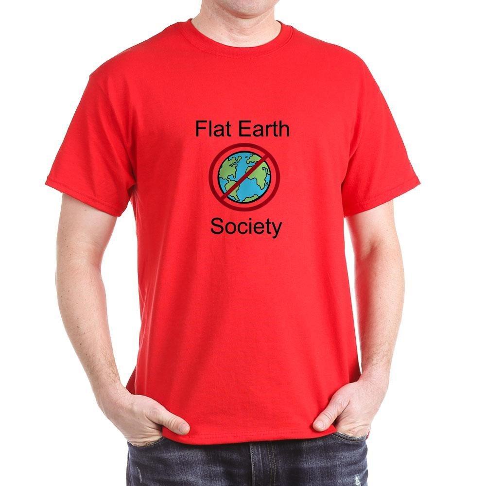 Flat Earth Society Tshirt Tshirt