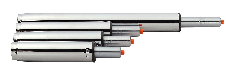 Gasdruckfeder Gasfeder Gas lift Höhenverstellung für Stühle bis 180 kg Farbauswahl (25-32 cm, Schwarz) Duhome