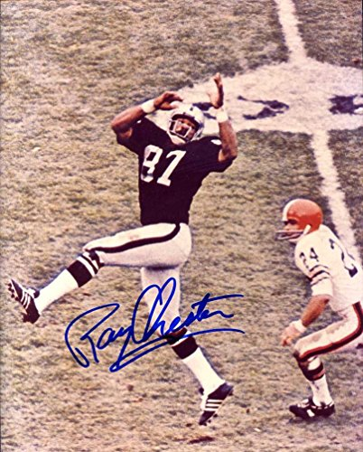 Raiders) Autographed /Original Signed 8x10 Color Action-photo - He Helped Oakland Win Super Bowl XV in 1980 ()