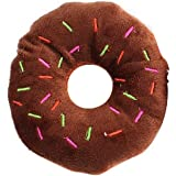 Pet Toys Cute Donuts Pet Puppy Plüsch Sound Glitschige Funny Kauen Spielzeug zufällige Farbe