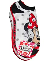 5 Pair Disney Minnie Mouse Character Socks (Large 4/10)