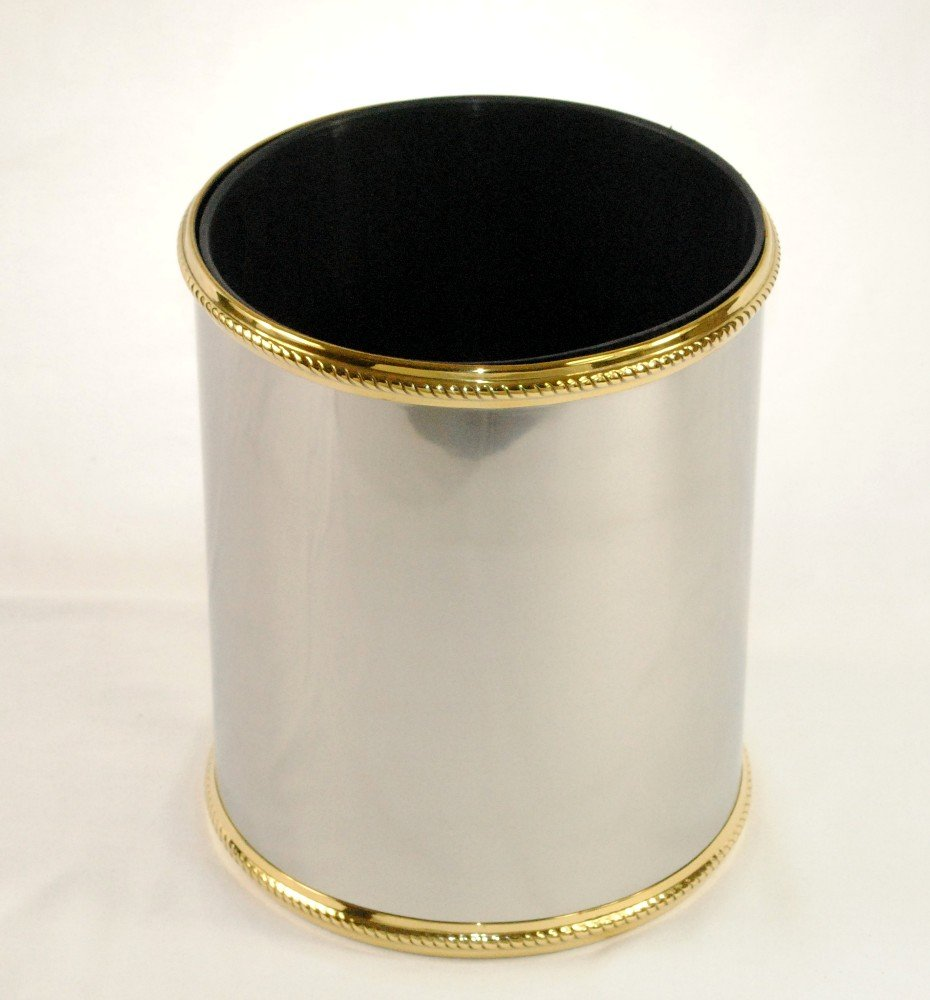 3SCompany Fifth Avenue Waste Basket with Liner