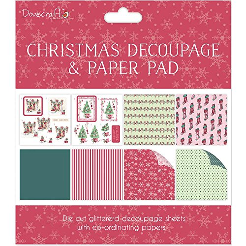 Decoupage Pad (Dovecraft Christmas Decoupage & Paper Pad - Scenes - Card or Scrapbooking Kit)