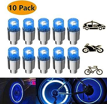 luces led para las ruedas de bicicleta y coches