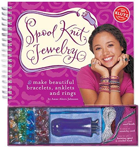 Spool Knit Jewelry Book Kit