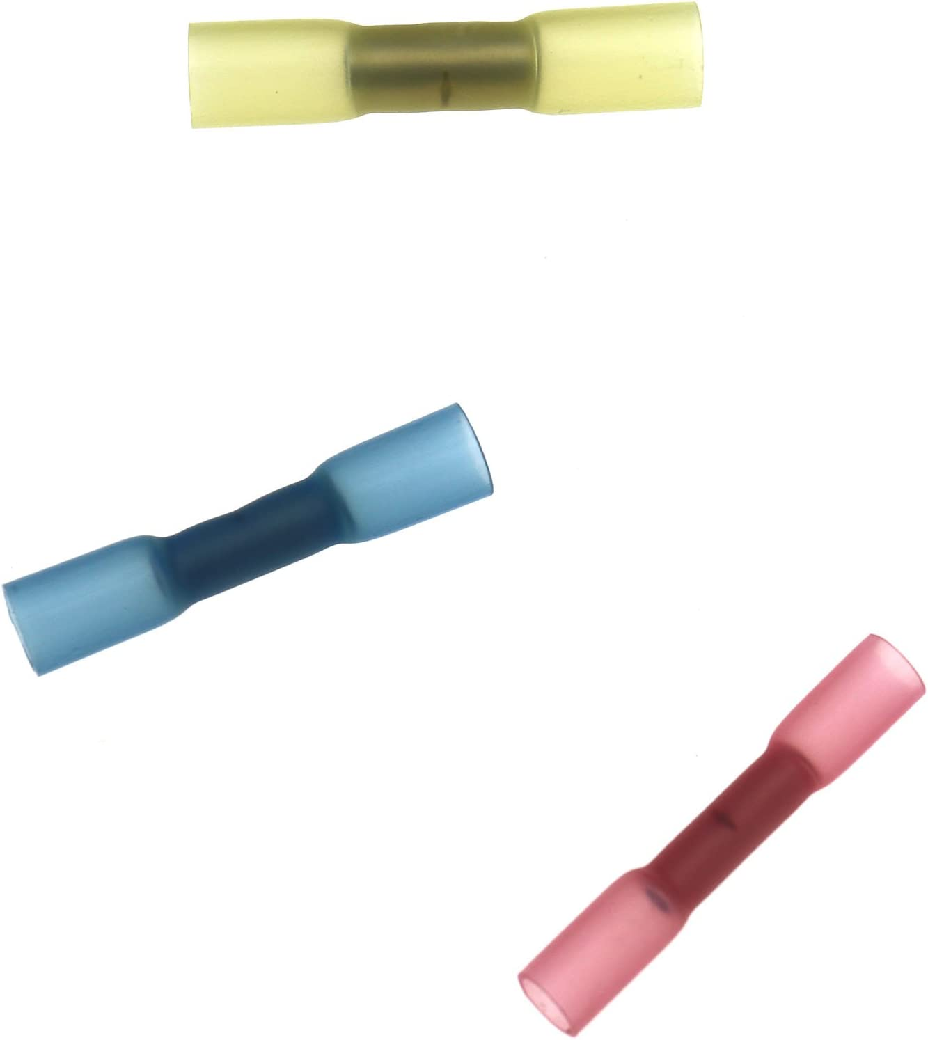 cr/éer des Idear 100/pcs /électrique /étanche Heat Shrink Butt Crimp Connecteurs Terminal kit