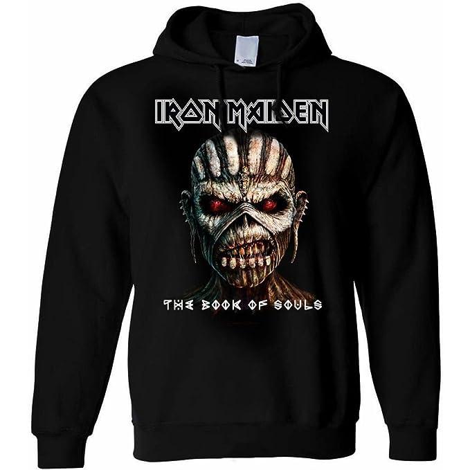 Producto oficial de Iron Maiden sudadera con capucha/sudadera con capucha???L...: Amazon.es: Ropa y accesorios