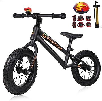 Amazon.com: Diwenhouse bicicleta de equilibrio para niños ...