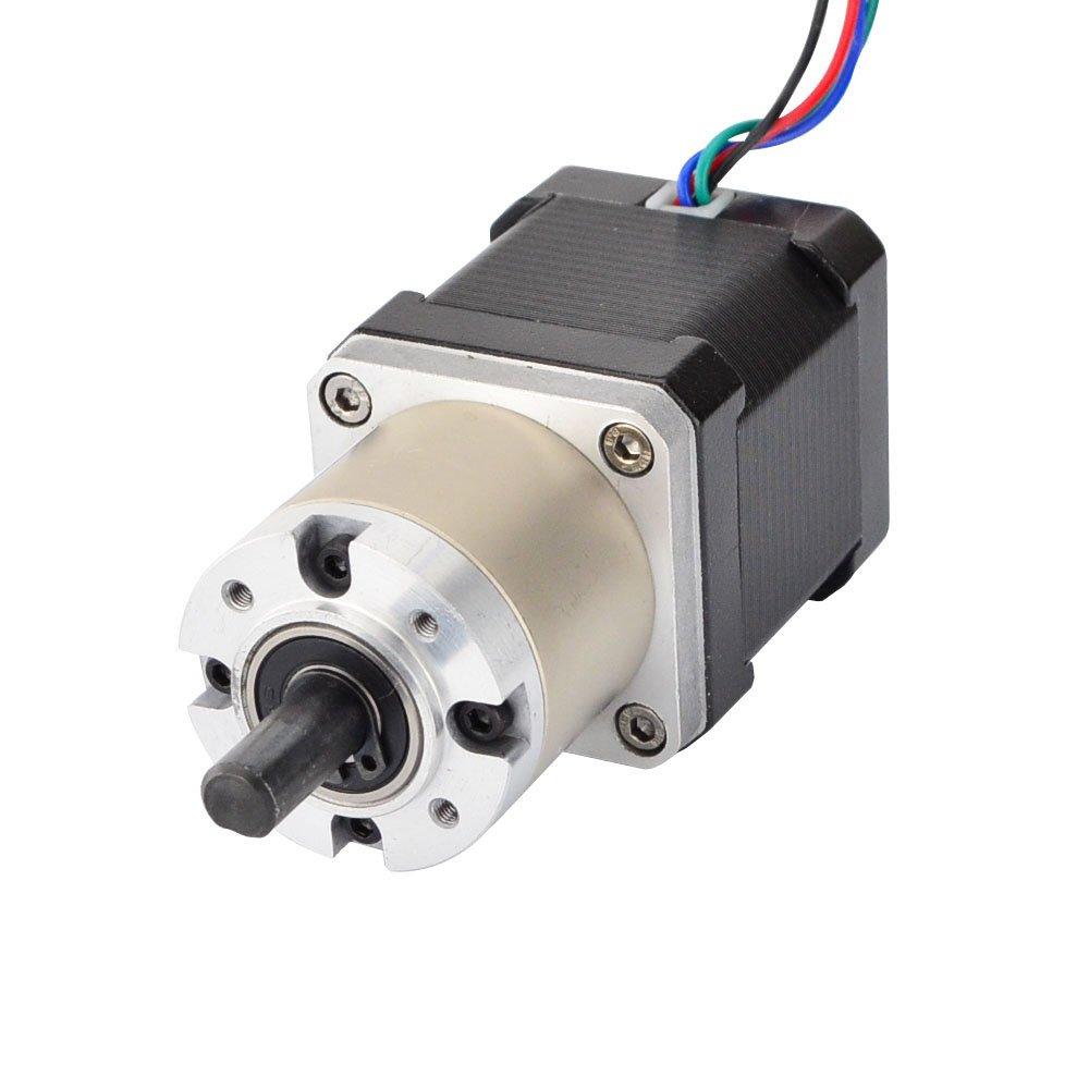 Ltd 17HS19-1684S-PG27 STEPPERONLINE 27:1 Planetary Gearbox High Torque Nema 17 Stepper Motor 3D Printer DIY Camera OSM Technology Co