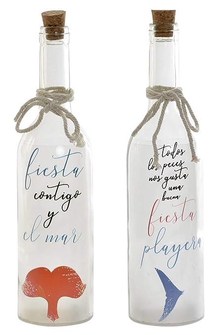 Item Botella Frases luz led 29x7-2 Modelos, 29x7Cn: Amazon ...