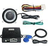 EASYGUARD EC004 Smart Rfid Car Alarm system Push Engine Start stop button & Keyless Go System Fits for most DC12V cars
