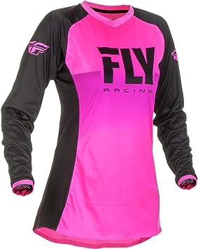 Fly Racing 2019 Girls Lite Jersey Blue//HI-VIZ Small