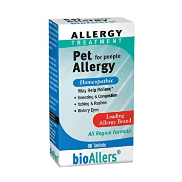 bioAllers Pet Allergy Relief for People | Homeopathic Formula Temporarily  Relieves Sneezing, Itching, Watery