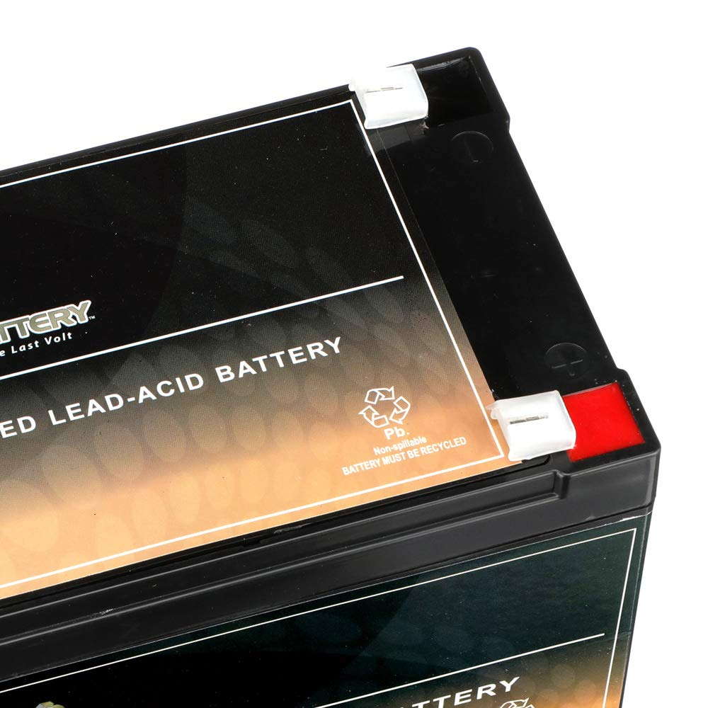 12V 12AH Replacement Battery for CA12120-2 Pack VICI Battery Brand Product