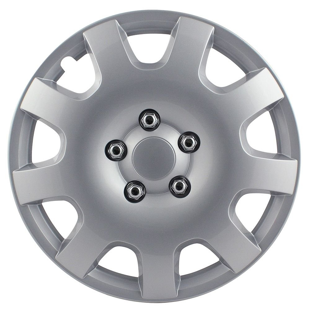 Pilot Automotive WH524-16S-BX Gear Silver 16 Wheel Cover, Set of 4