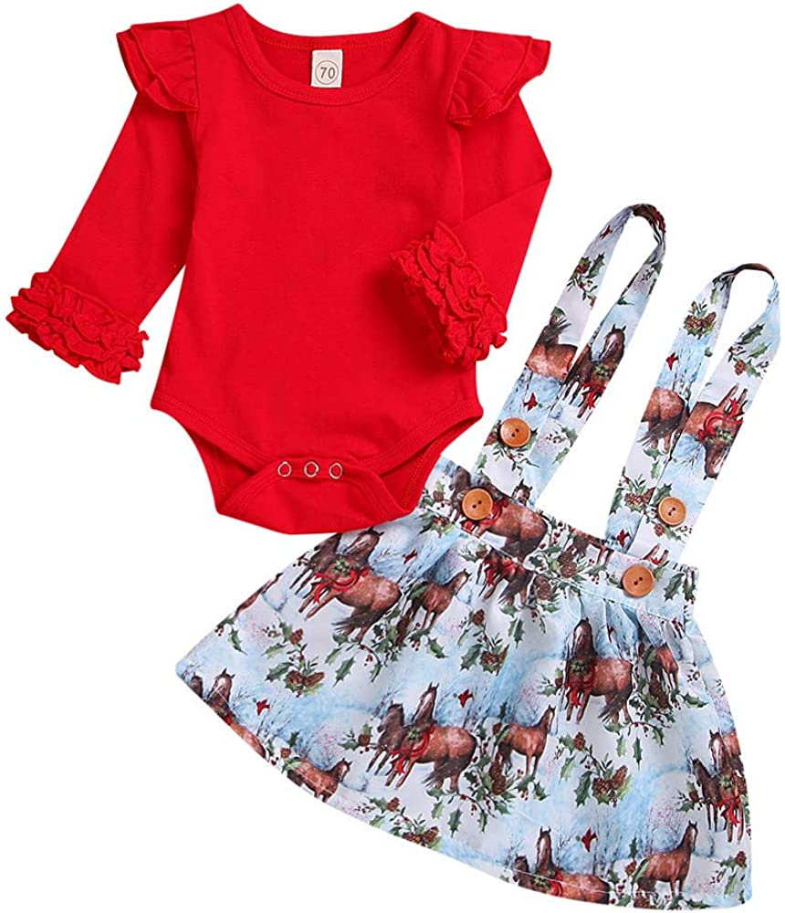 Infant Baby Girl Promoted to Big Sister Short Sleeve Top+Lace Tutu Skirt Outfit Clothes Set