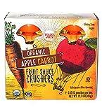 Trader Joe's Organic Apple Carrot Fruit Sauce Crushers, Pouches