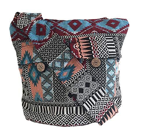 OMA Rasta Jamaican Bob Marley Purse Messenger Sling Cross Body Bag Purse - Premium Quality Brand