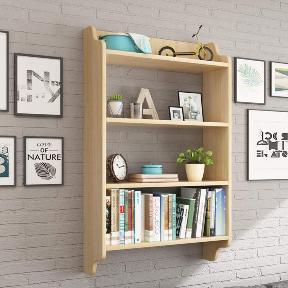 Storage Shelf, Wall Hanging Bookshelf Easy Storage Convenient Storage (60/708020cm; 60/7011520cm) Yixin (Color : A, Size : 7011520cm)
