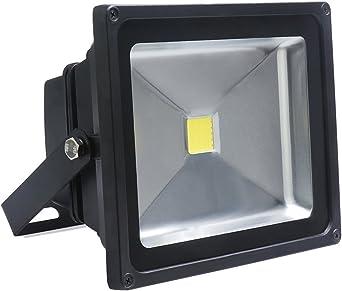 Auralum® 30W Foco LED Proyector de luz Lámpara IP65 impermeable ...